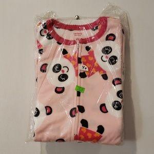 NWT Carters PJ Girls Footsie One-Piece Size 4T
